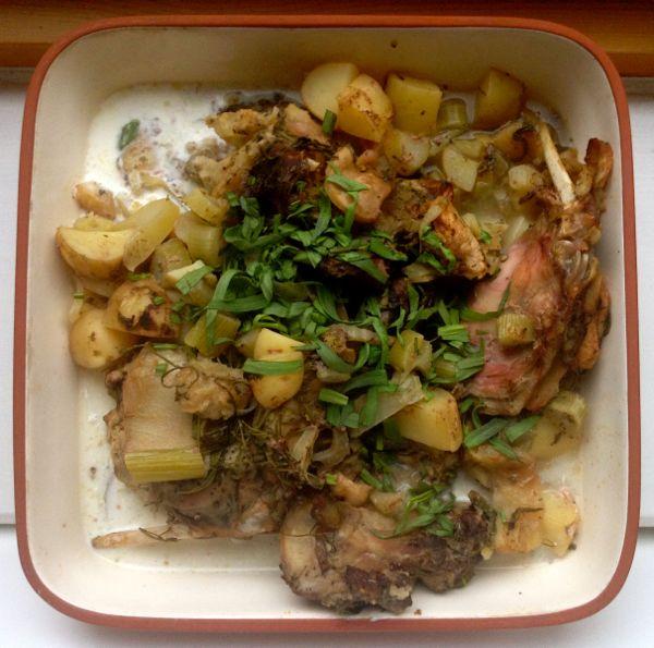 Slow Cooker Rabbit Stew