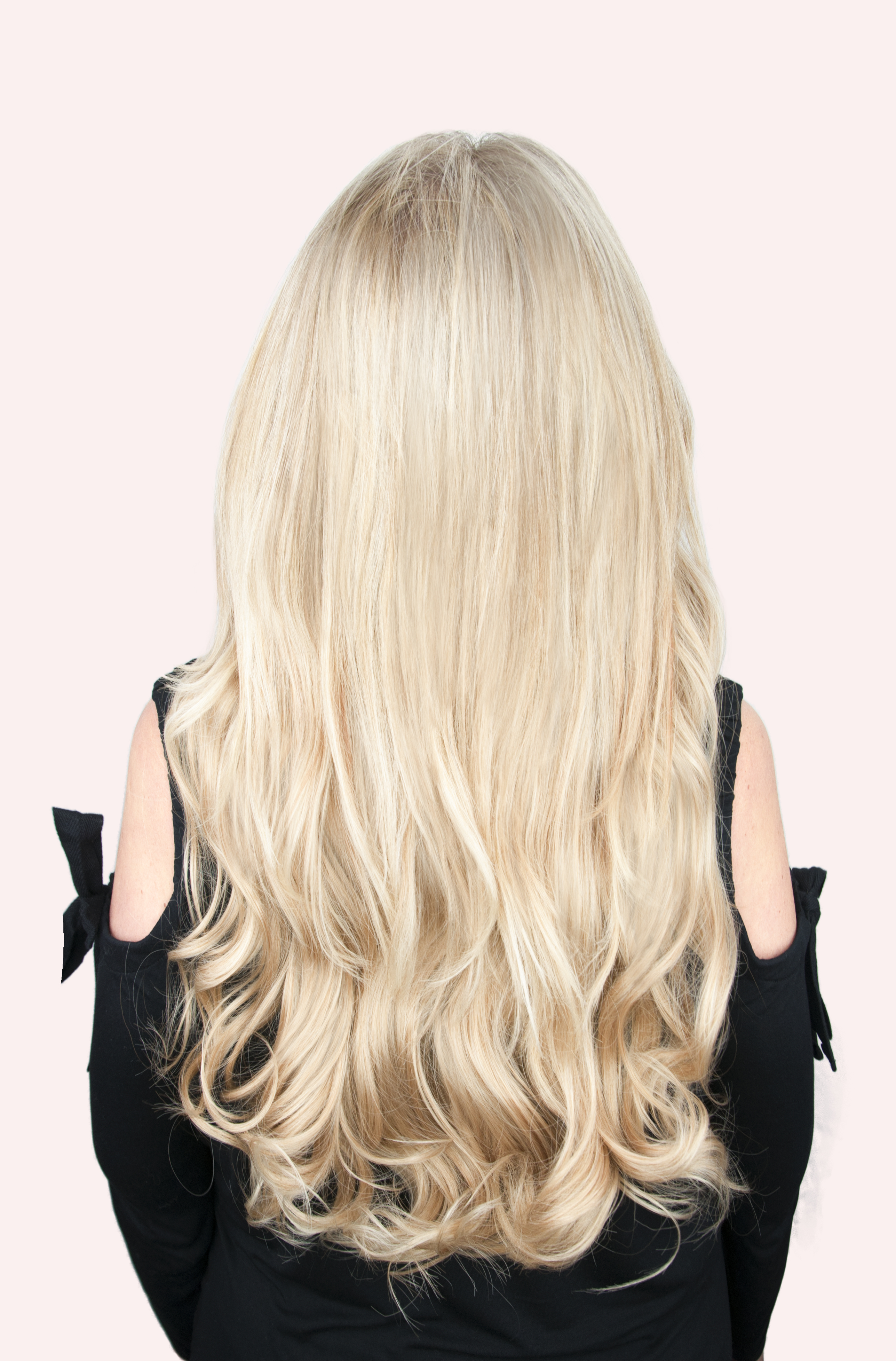 24 Bombshell Super Thick 5 Piece Wavy Clip In Hair Extensions
