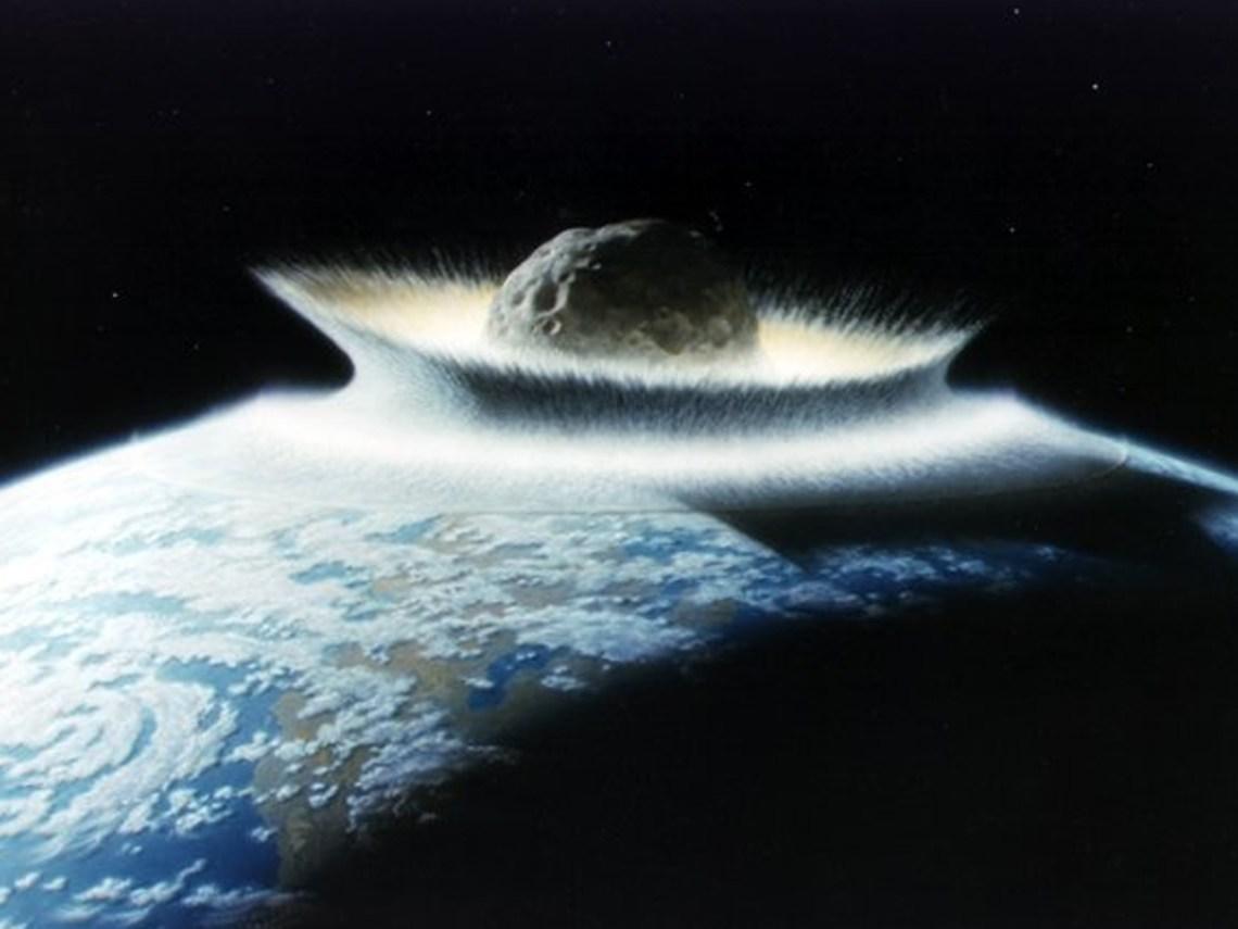 massive earth impact