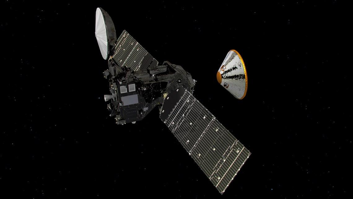 ExoMars 2016 separation via ESA