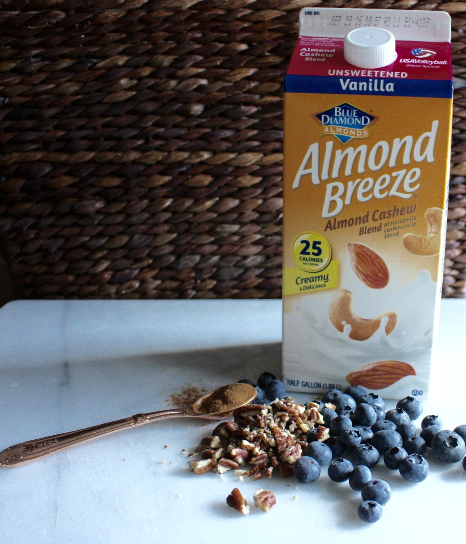 Breakfast Bake with Almond Cashew Milk