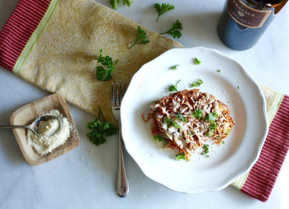 Spiralized Sweet Potato Pasta