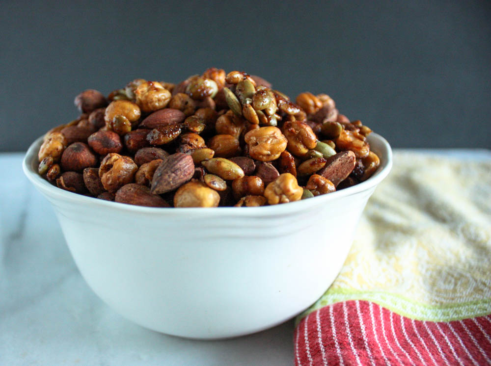 sweet-and-spicy-roasted-chickpeas