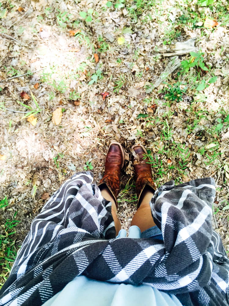 Fall Flannel & Boots