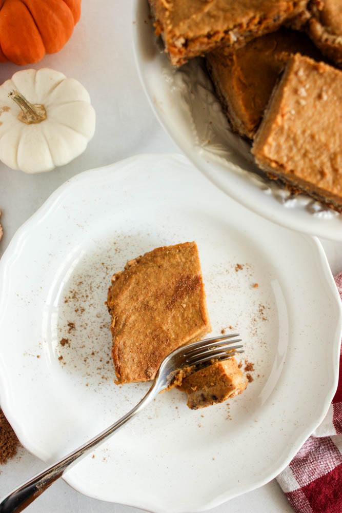 Nourishing Pumpkin Spice Squares