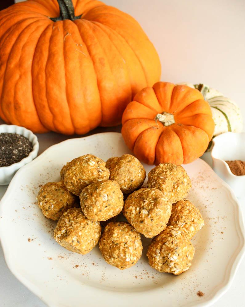 Healthy Pumpkin Power Balls