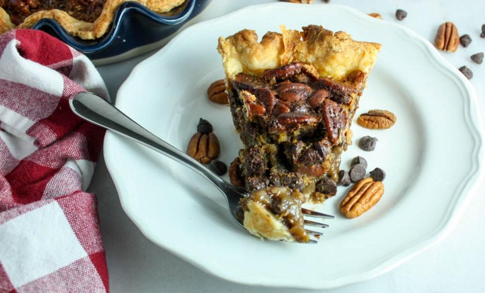 Pecan & Chocolate Pie