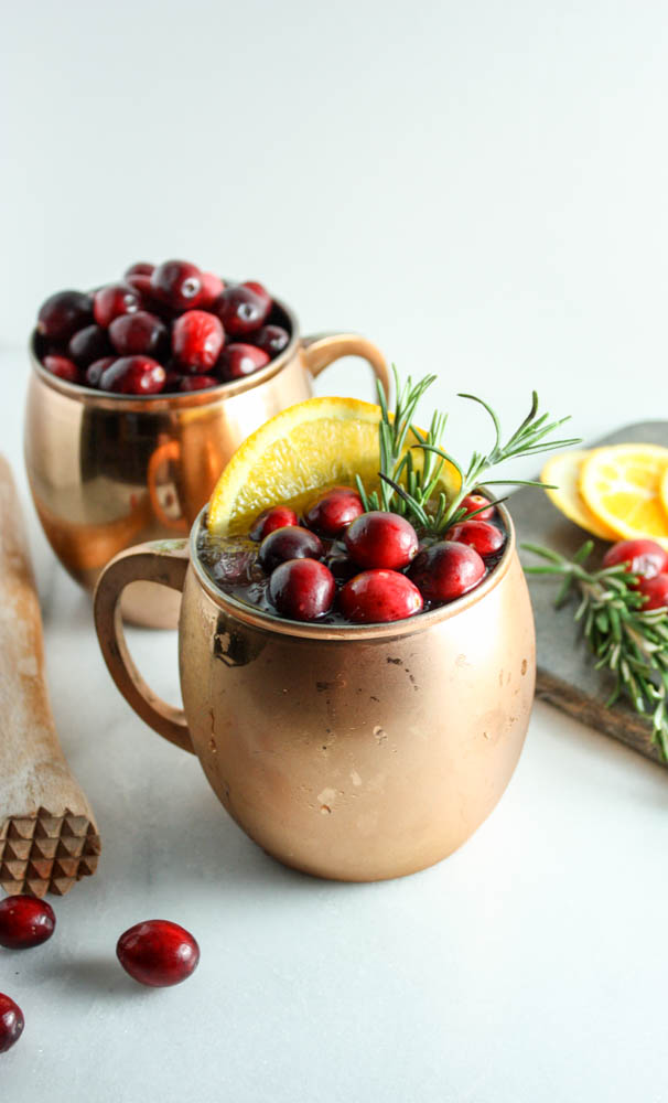Cranberry Orange Moscow Mule