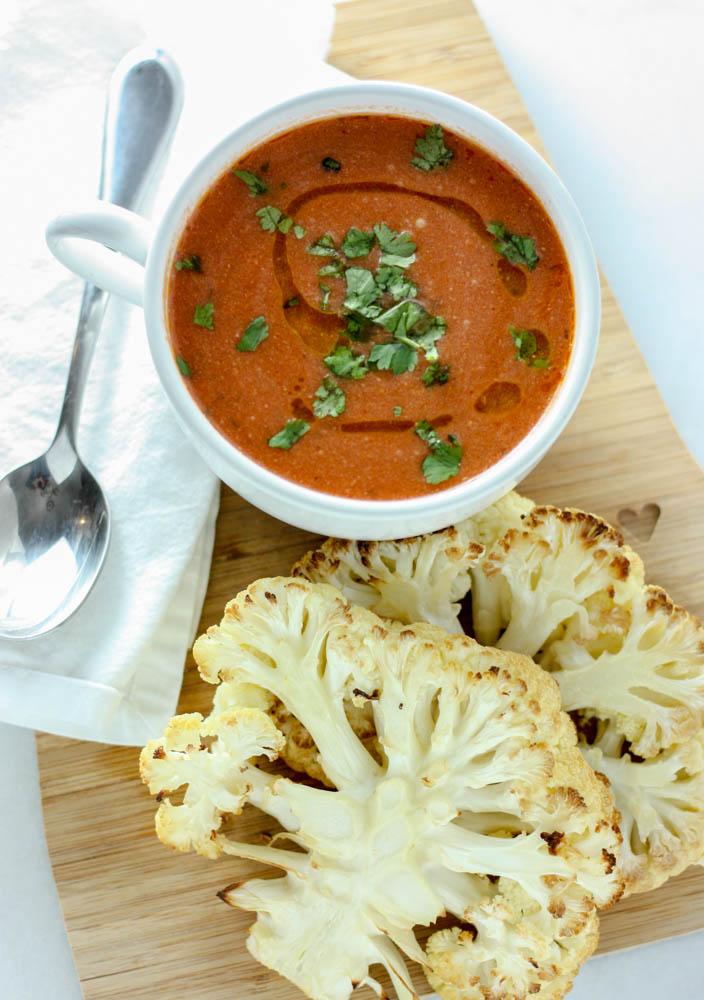Tomato Soup - dairy free!