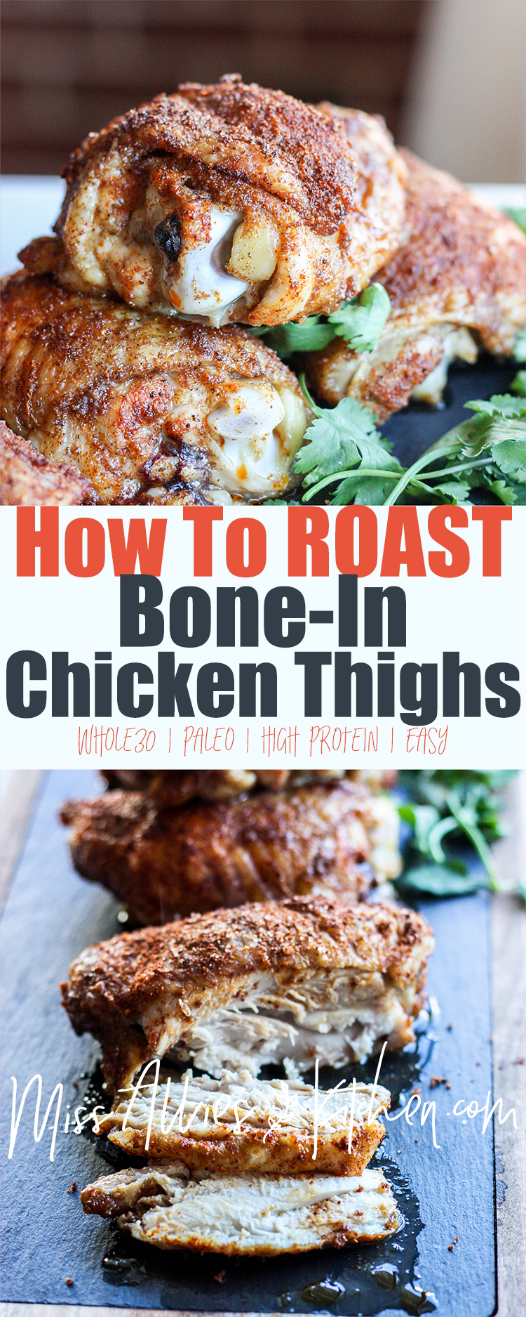 How To Roast Bone-In Chicken Thighs
