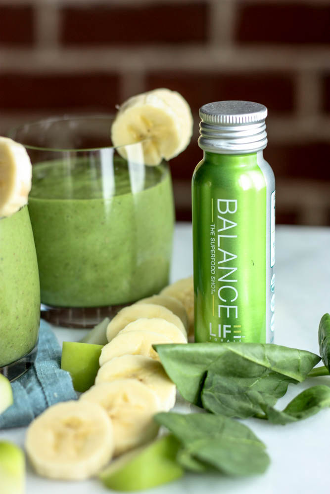 Adding Balance to a Green Smoothie