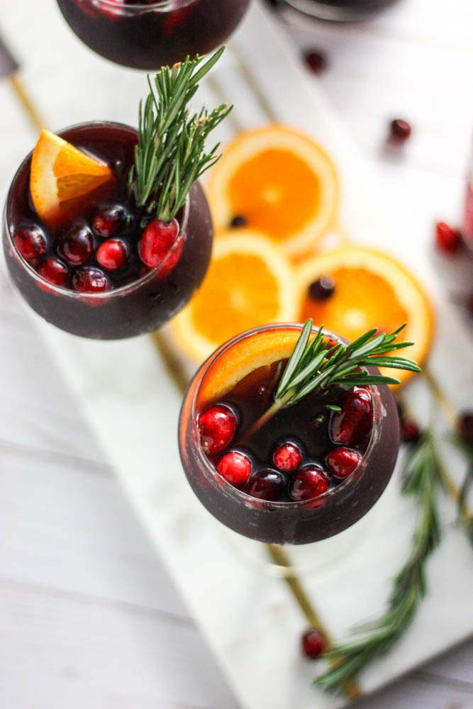 Cranberry Orange Roja Red Sangria
