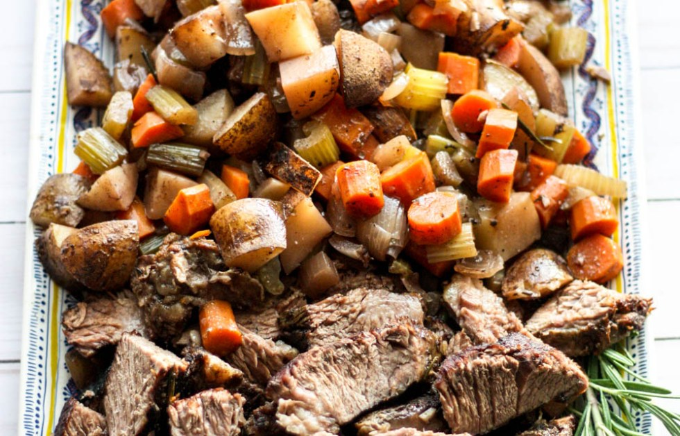 Red Wine Braised Beef Roast