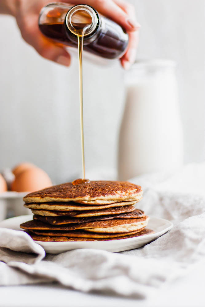 The Easiest Paleo Blender Pancakes