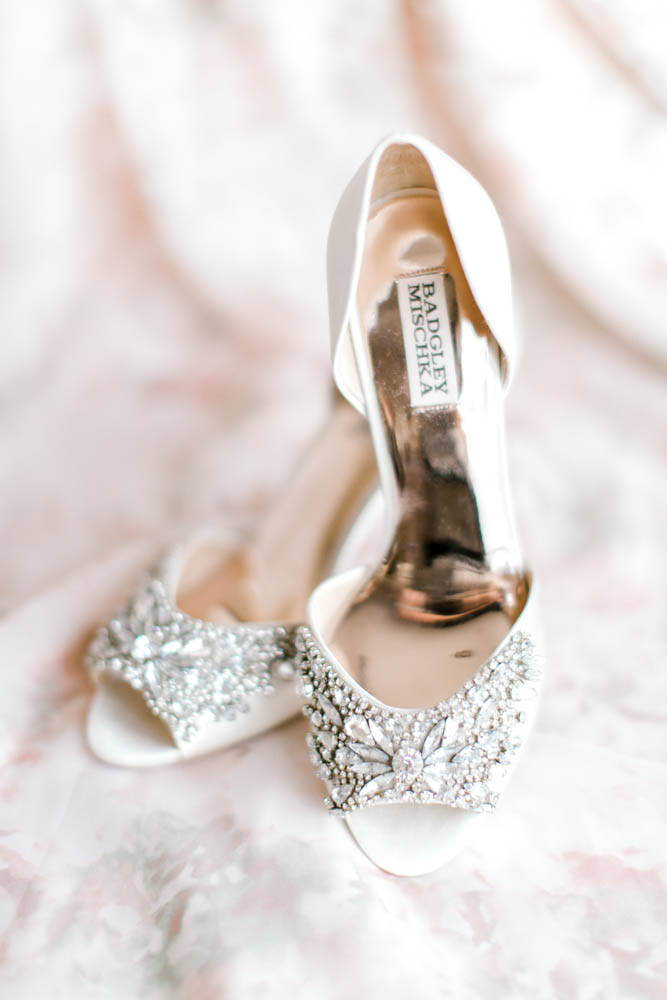 traditional wedding shoe