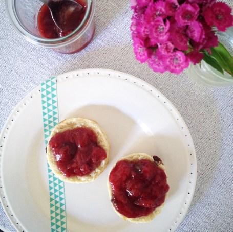 Scones aux raisins (2)