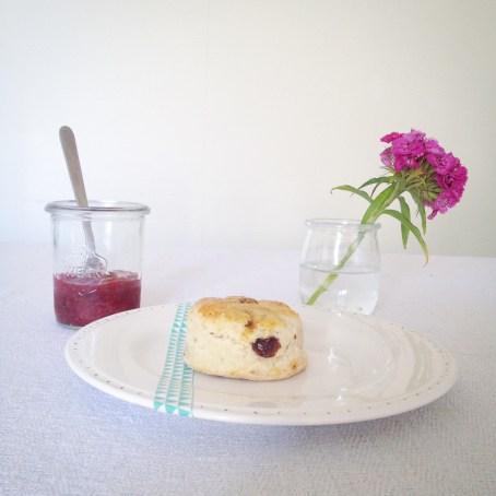 Scones aux raisins (3)