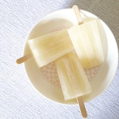 bâtonnet de glace citron