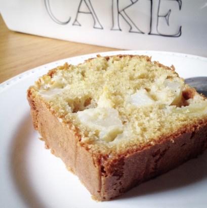 Cake aux pommes (2)