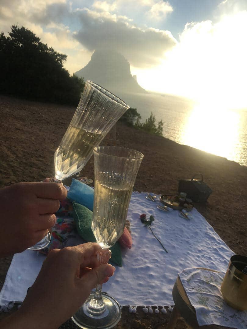 Heiratsantrag Ibiza