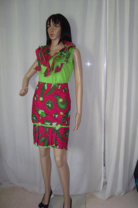 Mode Africaine Tissu Pagne Photos De Robes