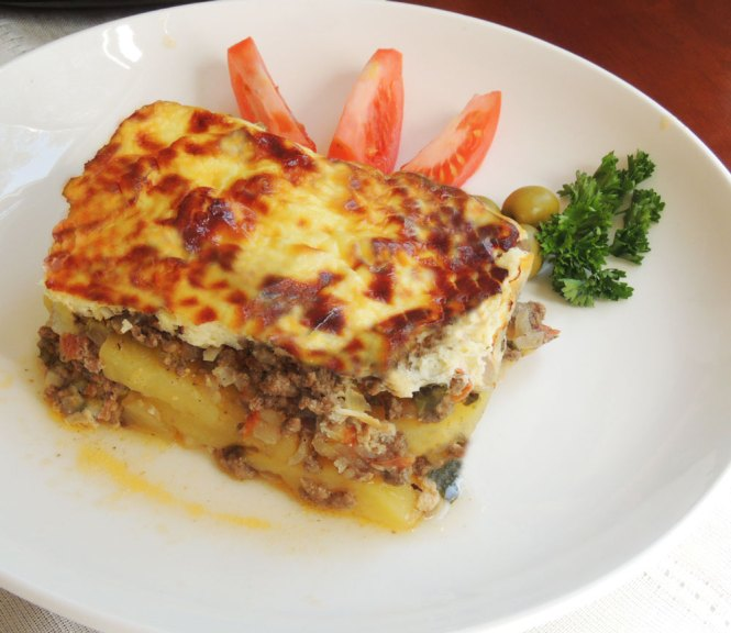 Meat and Potato Moussaka