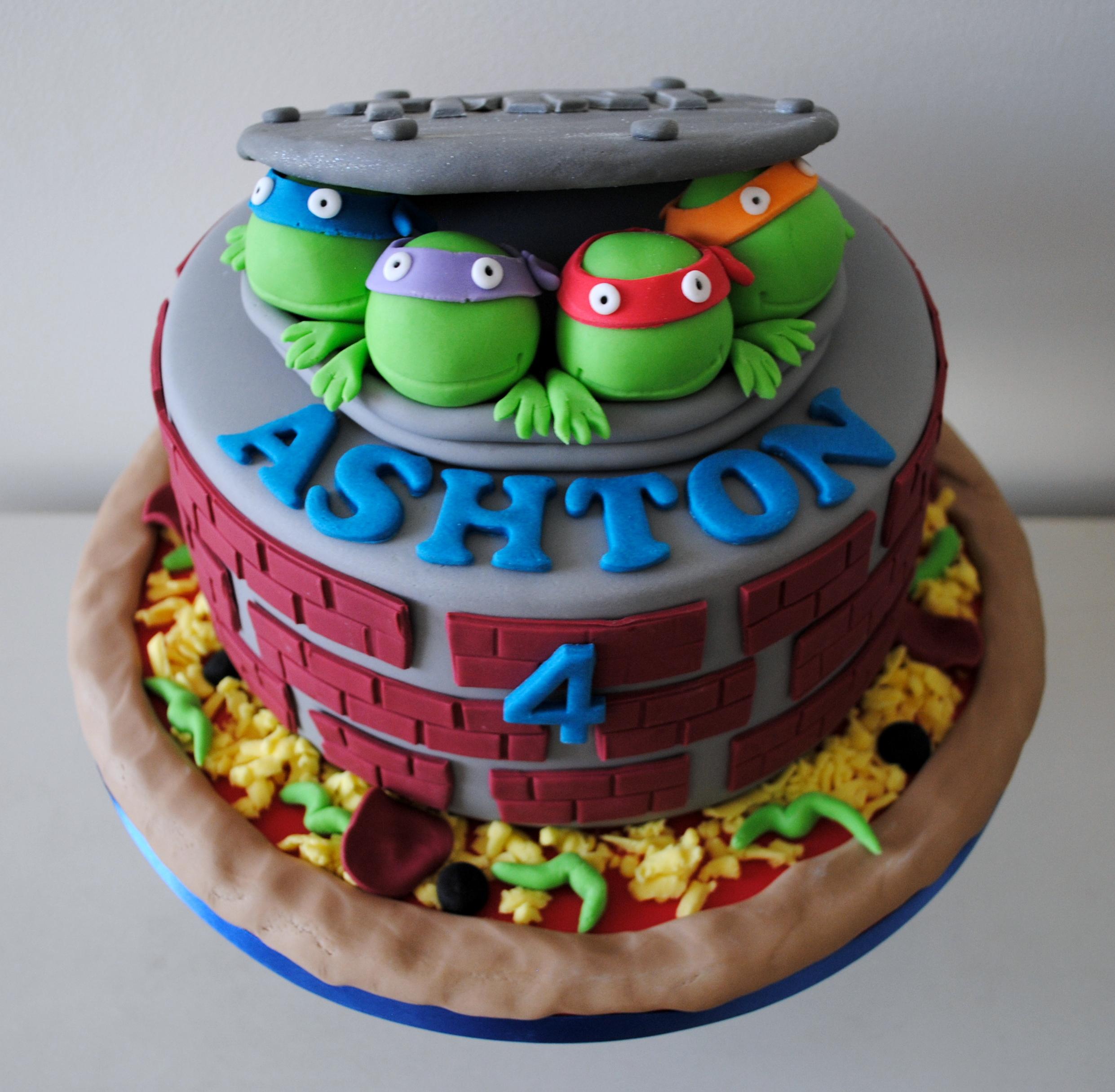 Miss Cupcakes Blog Archive Teenage Mutant Ninja Turtle