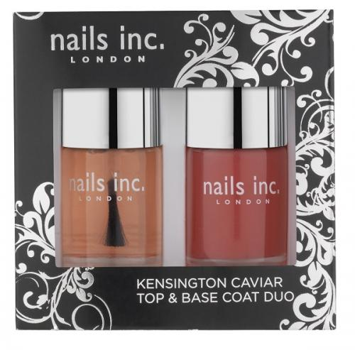 Review: Nails Inc Kensington Caviar Top Coat and Base Coat