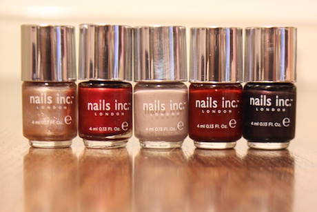 Review: Nails Inc VIP Collection