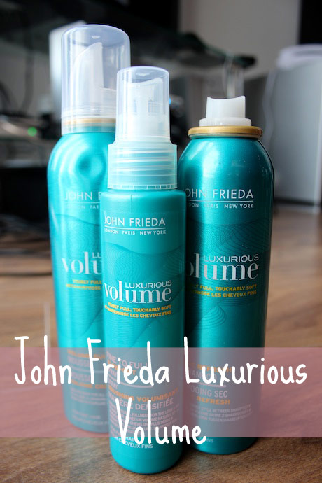 Review: John Frieda Luxurious Volume Collection*