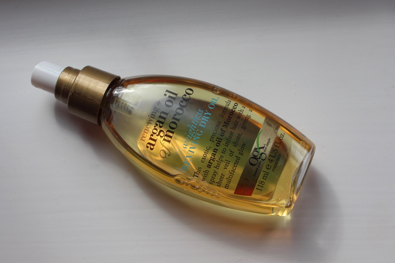 Organix Weightless Argan Oil