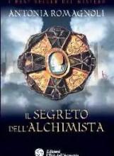La copertina de Il Segreto dell'Alchimista nella versione cartacea, primo romanzo sulle Terre