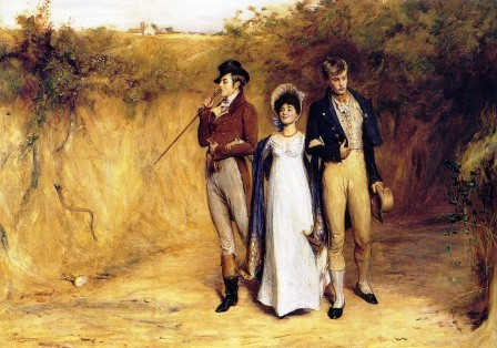John Pettie Two Strings To Her Bow 1882