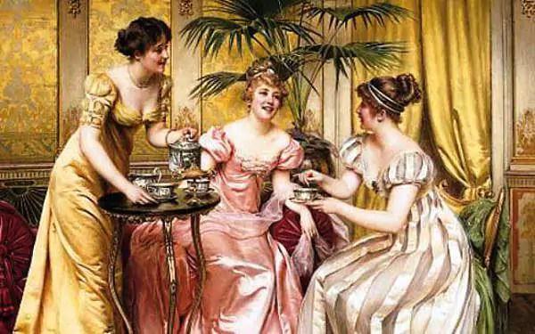 tè in epoca vittoriana
