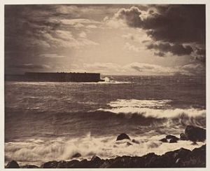 The great wave, di Gustave Le Gray - 1857