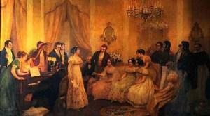 il salotto di miss Darcy