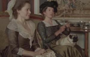 Lady Bertam e Mrs. Norris