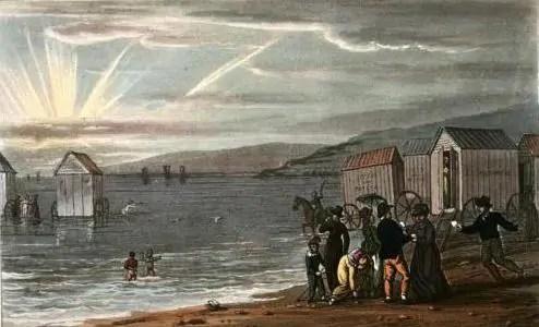 scarborough sea bathing 1813 regency jane austen