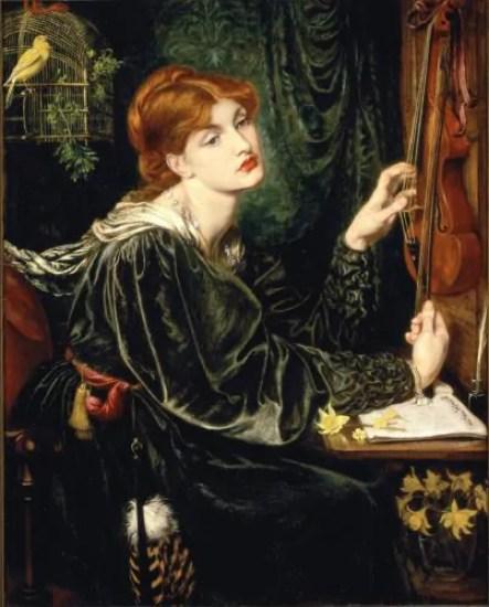 Alexa dipinta da Rossetti