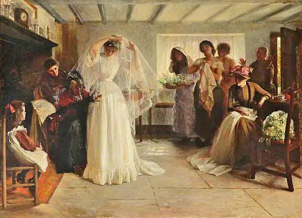 abito da sposa 1800