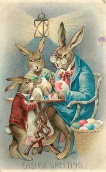Pasqua in epoca vittoriana