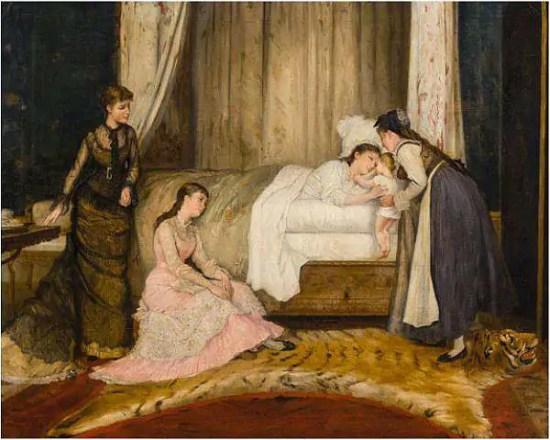 maternità nell'arte vittoriana