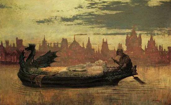 John Atkinson Grimshaw - il profumo delle foglie d'autunno
