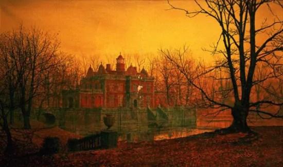 la pittura dell'autunno nell'arte vittoriana