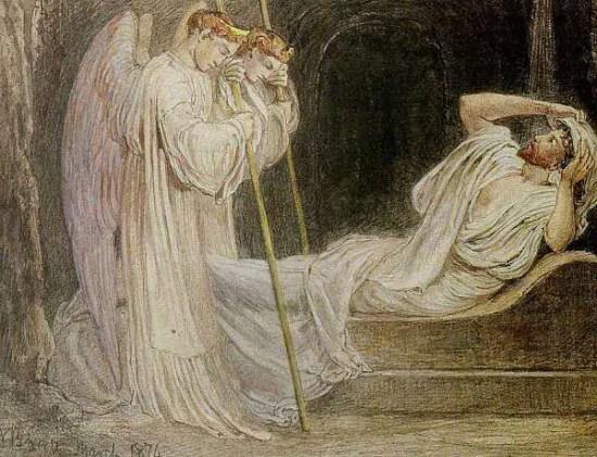 ressurrection in victorian art
