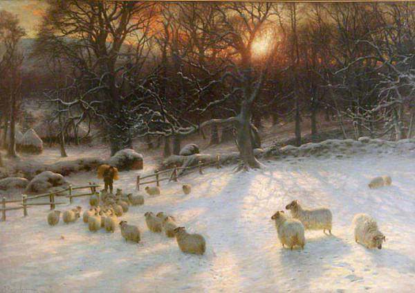 The shortening winters day is near a close Farquharson