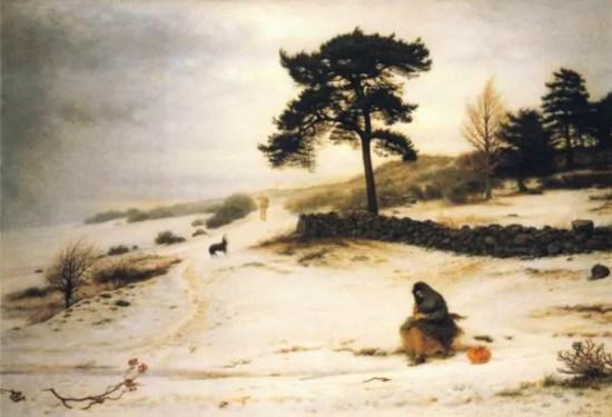 l'inverno nell'arte vittoriana