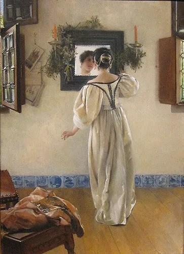 A knock at the door Laura Alma-Tadema