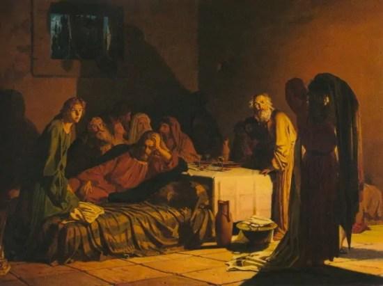 giovedì santo nell'arte ottocentesca
