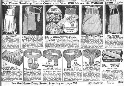 Le mestruazioni nel 1800